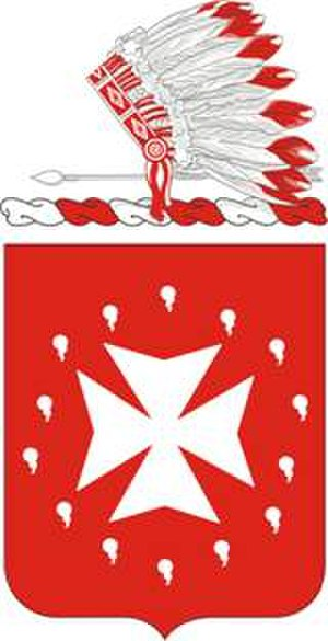 14th Field Artillery Regiment - Coat of arms