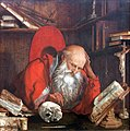 1545 van Reymerswale Der hl. Hieronymus in seiner Zelle anagoria.JPG