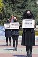15 Protesters in Geneva demand the release of Armenian POWs, 15 April 2021.jpg
