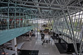 Bratislava Airport - Check-in hall