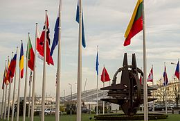 160211-D-DT527-007 NATO country flags wave at the entrance of NATO headquarters in Brussels 2016.JPG