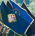 16 obljetnica vojnoredarstvene operacije Oluja 05082011 zastava 5 gardijska brigada 255.jpg
