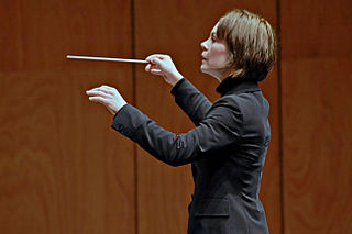 Susanna Mälkki Finnish conductor and cellist
