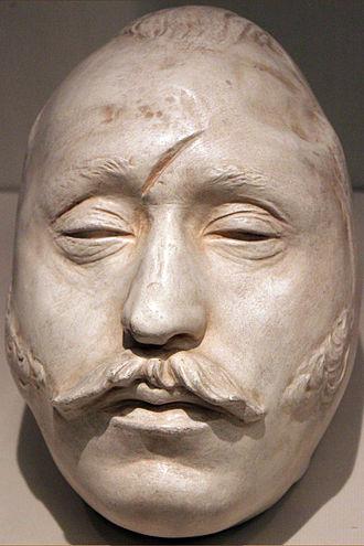 Ferdinand von Schill - Ferdinand von Schill's death mask, Deutsches Historisches Museum Berlin