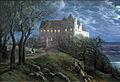 1827 Oehme Burg Scharfenberg bei Nacht anagoria.JPG