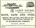 1857 Nourse WashingtonSt SalemDirectory Massachusetts.png