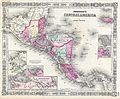 1864 Johnson Map of Central America - Geographicus - CentralAmerica-johnson-1864.jpg