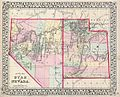 1872 Mitchell Map of Utah and Nevada - Geographicus - UTNV-mitchell-1872.jpg