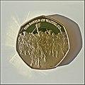 18 June 1815 – Victory at Waterloo – Seven-sided 2015 Commemorative Medal, reverse.jpg