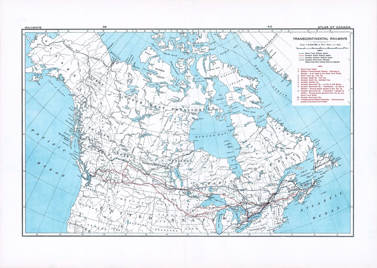 Map Of Canada Government Of Canada.File 1915 Canada Railway Map Page39 40 Pdf Wikimedia Commons