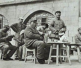 Zhu De - 1940 Zhu De in Yan'an.