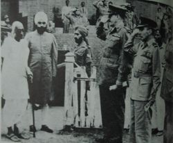 1948 CR Baldev Singh Chiefs of Staff.JPG