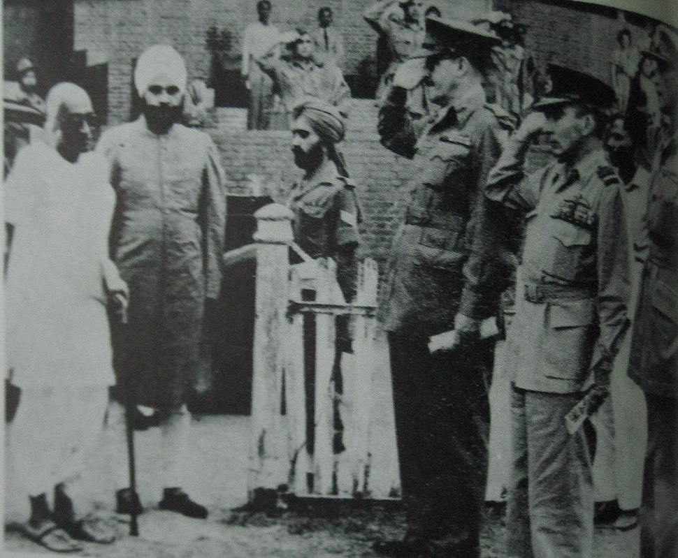 1948 CR Baldev Singh Chiefs of Staff