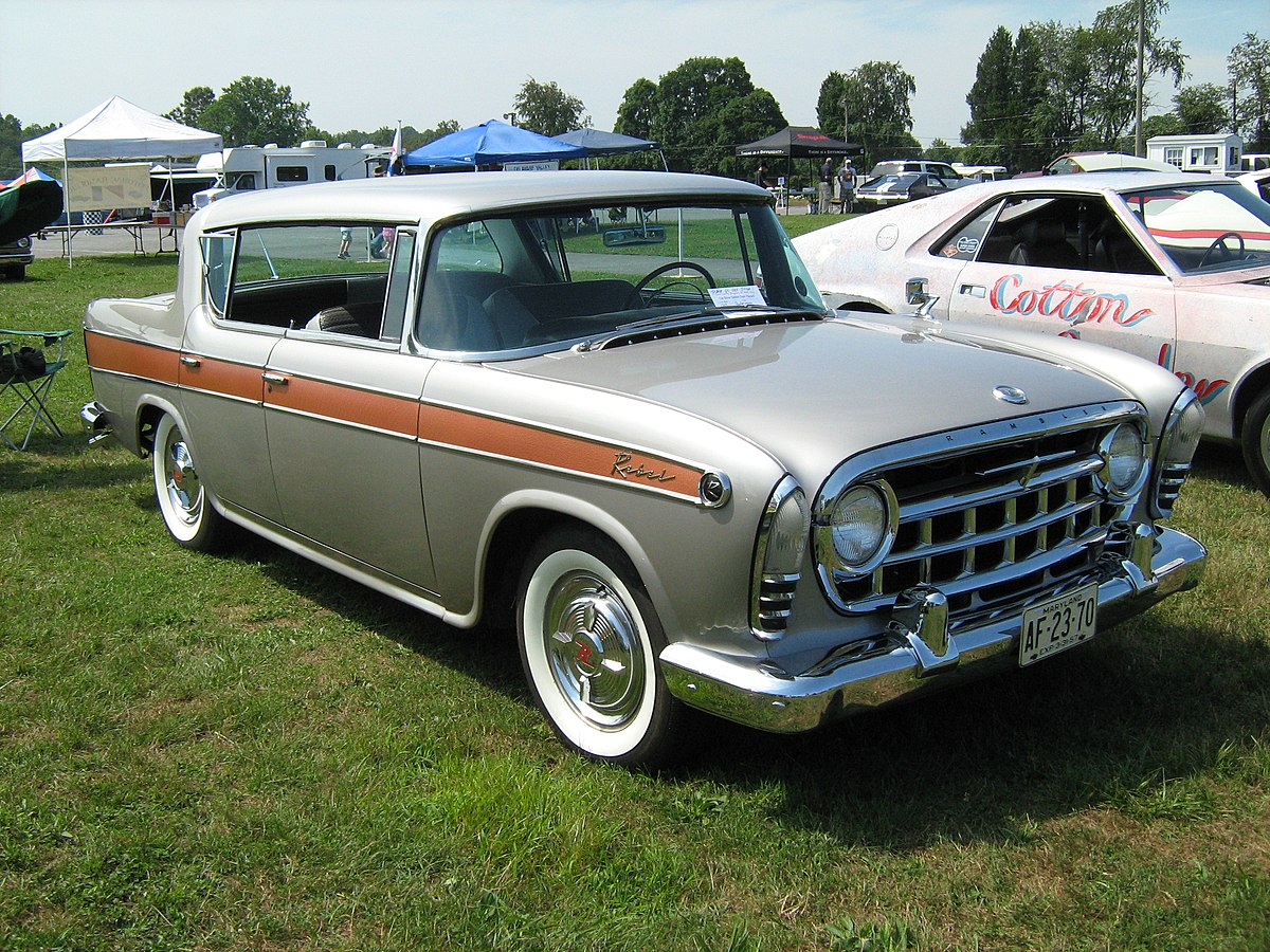 All American Motors >> Rambler Rebel Wikipedia