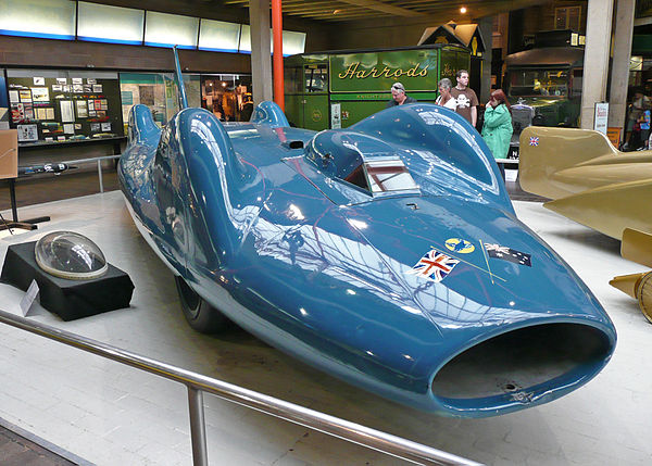 land speed record cars