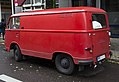 1965 Ford Taunus Transit in red, Berlin (rear left).jpg