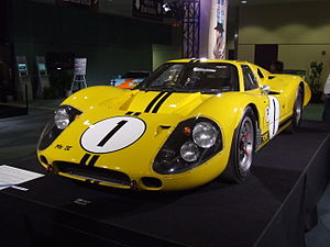 12 Hours of Sebring - The Ford Mk IV which won the 1967 Sebring 12 Hour