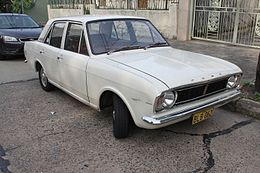 1970 Ford Cortina (Mark II) L 1600 sedan (26412118291).jpg