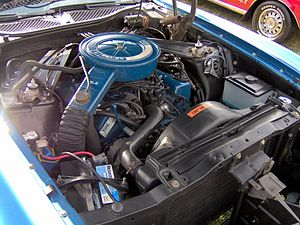 Ford 335 engine - 1973 H-code 2V 351 Cleveland