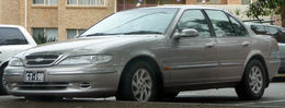 1996-1998 Ford EL Fairmont Ghia sedan 01.jpg
