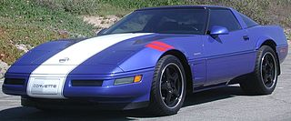 sports car produced by Chevrolet for the 1984 through 1996 model years