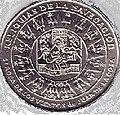 1 песо. Куба. 2000. Реликвии судостроения - Карта Хуана де ла Коса.jpg