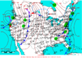 2005-04-08 Surface Weather Map NOAA.png