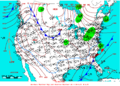 2006-02-07 Surface Weather Map NOAA.png