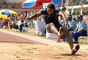 2007 Military World Games long jump.jpg