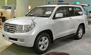 Toyota Land Cruiser-200 photographed in the Sh...