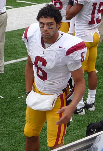 Mark Sanchez - Sanchez as part of the USC Trojans in 2008