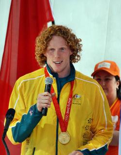 2008 Australian Olympic team Steve Hooker - Sarah Ewart.jpg