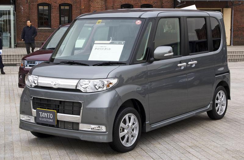 Square Japanese Cars