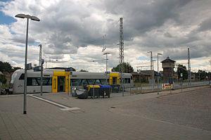Bützow–Szczecin railway - Pasewalk station