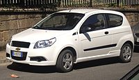 T250: Chevrolet Aveo three-door (Italy)