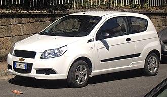 Chevrolet Aveo - Chevrolet Aveo Eco Logic 3-door (Italy)