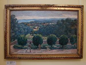 Albert André - Albert André: Renoir's garden in Cagnes-sur-Mer