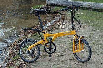 Birdy (bicycle) - Birdy Rohloff 2011