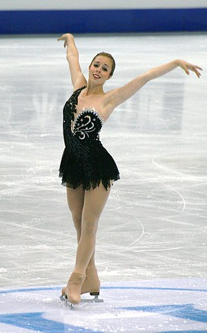 Ashley Wagner - Wagner performs her free program at the 2012 Worlds.