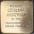 2013-05-08 Stolperstein-Verlegung für Ceslawa Andrzysiak.JPG