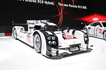 The Porsche 919 Hybrid At Its Official Reveal 2017 Geneva Motor Show