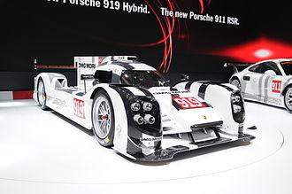 Porsche 919 Hybrid - Porsche 919 at Geneva Motor Show