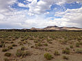2014-07-18 16 58 54 Distant view of the south edge of the Black Rock Lava Flow, Nevada.JPG
