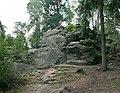 20140815030DR Karsdorf (Rabenau) Dippoldiswalder Heide Einsiedlerstein.jpg