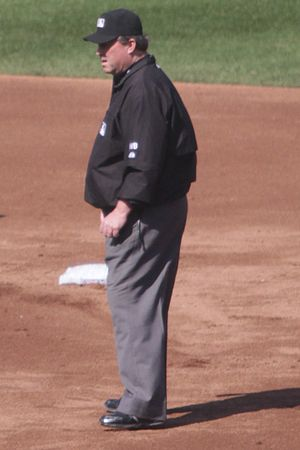 Gerry Davis (umpire) - Davis in 2014