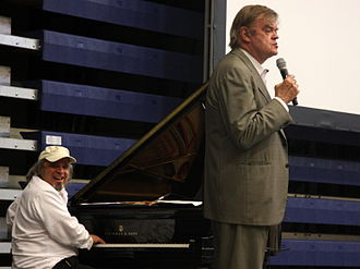 Garrison Keillor - Keillor with Richard Dworsky on the 40th anniversary of A Prairie Home Companion