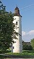 2014 Kocobędz, Wieża strażnicza byłego zamku 01.jpg