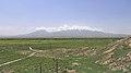 2014 Prowincja Ararat, Krajobraz widziany z klasztoru Chor Wirap (04).jpg