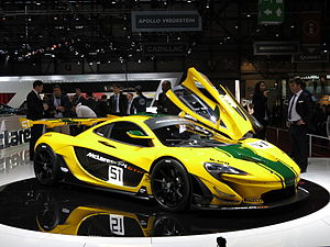 McLaren P1 - McLaren P1 GTR at the 2015 Geneva Motor Show