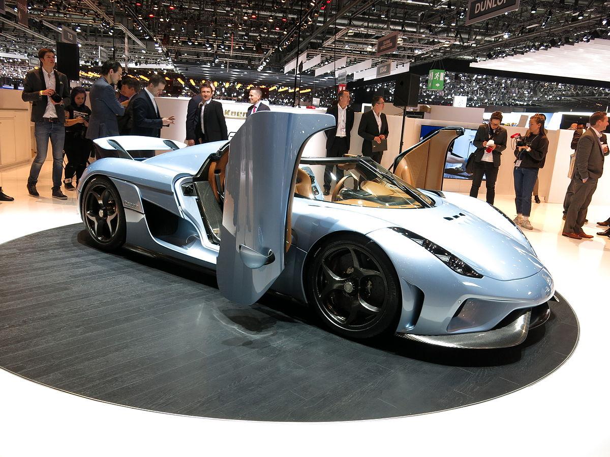 Koenigsegg regera wikip dia for Offre d emploi salon de l auto geneve